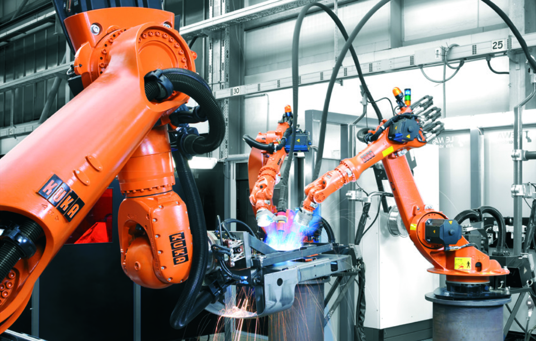 Genialny Specjaliści w dziedzinie spawania – roboty KUKA do zadań ZV84