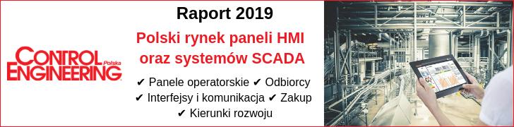 Raport 2019 Polski rynek paneli HMI oraz systemów SCADA