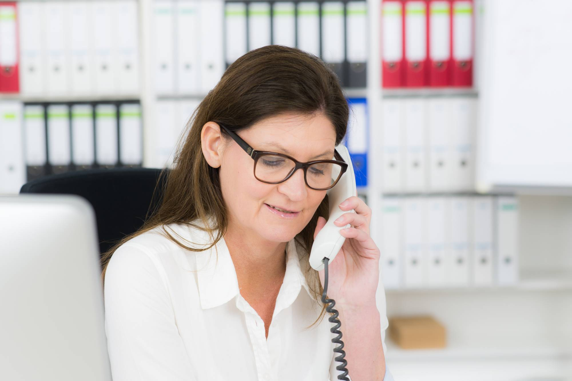 kobieta biuro office