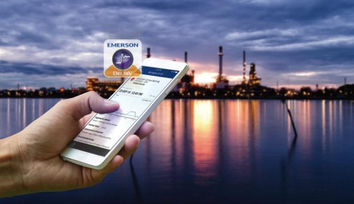 Aplikacja DeltaV Mobile Emerson mobile app