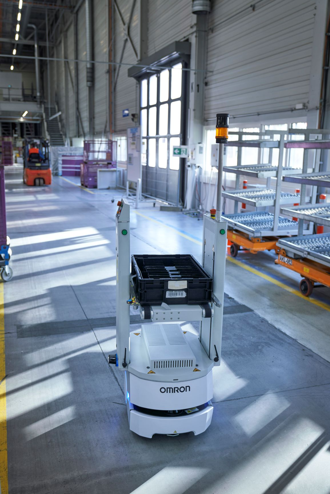 Smart Transport Robots Omron
